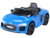 Audi R8 Spyder für Kinder, elektrisch, lizenziert (2018)-Blue