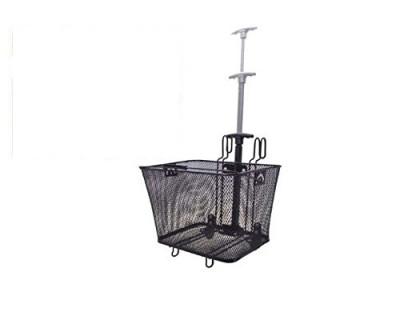 Lenker-/Gepäckträger- Korb, Trolley, rollbarer Einkaufskorb, groß