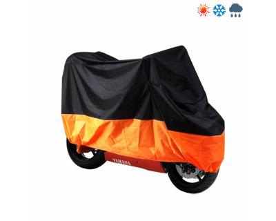 Abdeckplane, Garage, Regenhaube, Faltgarage, Haube, Rollerabdeckung  orange