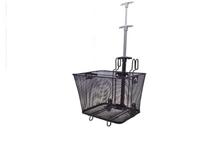 Fahrradkorb Gepäckträgerkorb Korb Einkaufskorb Trolley