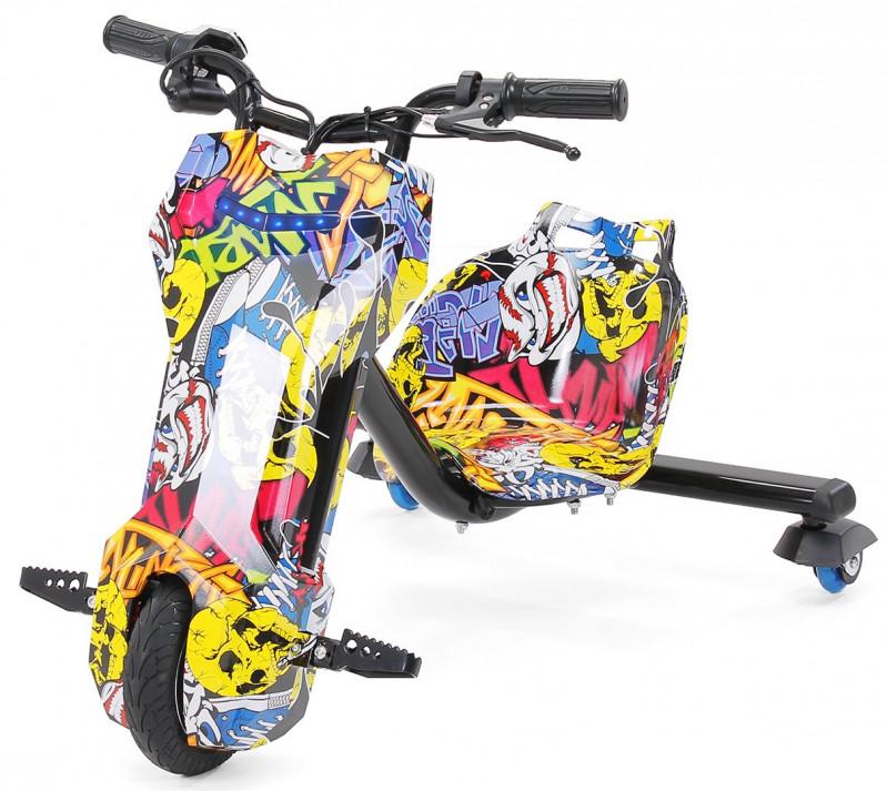 Drift E-Scooter graffiti