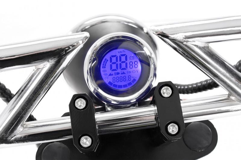 Elektro Scooter FLASH 1500 Watt 60 Volt 20AH mit Straßenzulassung