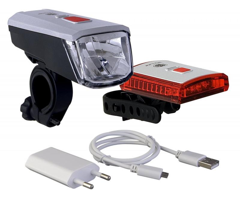 Scheinwerfer und Rücklicht 40LUX LED, STVZO