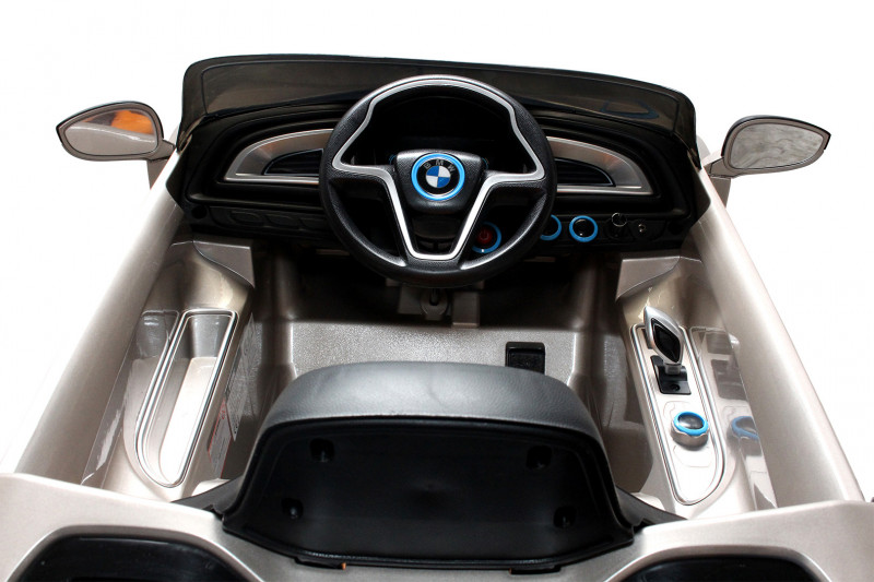 BMW i8 für Kinder, elektrisch, lizenziert, lackiert