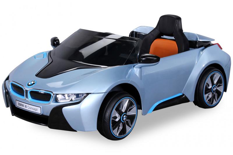 BMW i8 für Kinder, elektrisch, lizenziert, lackiert-Blue