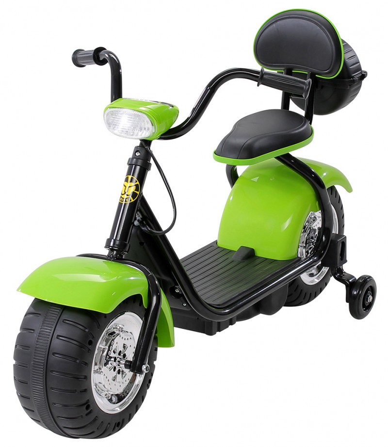 Elektromotorrad Flash Mini, für Kinder-Green