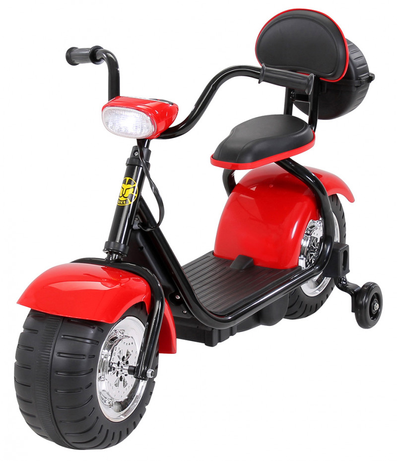 Elektromotorrad Flash Mini, für Kinder-Red