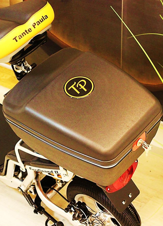 Koffer / TopCase abschließbar 14L, hinten